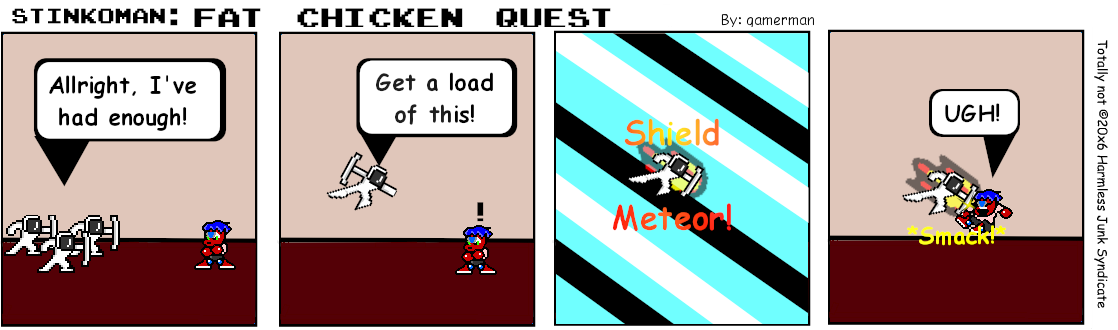 Shield meteor!
